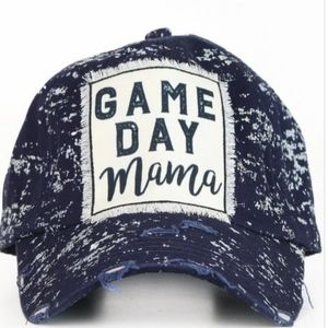 Navy Game Day Mama Cap - New With Tags!